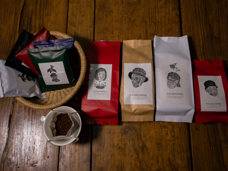Yagam's coffee products